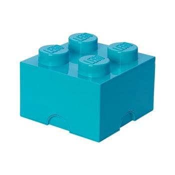 Cutie depozitare, LEGO®, albastru imagine