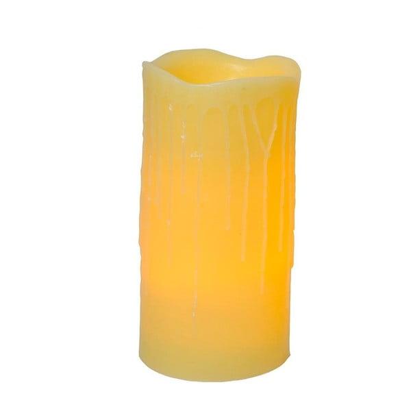 Vosková LED svíčka Real Candle, 30 cm