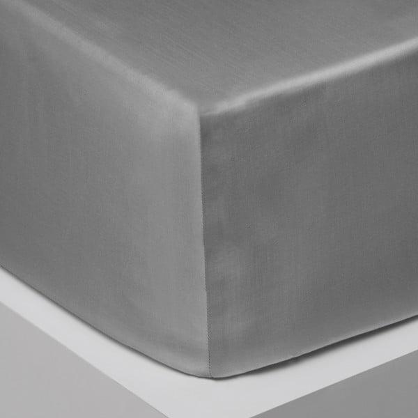 Elastické prostěradlo Iced Bloom, 200x200 cm