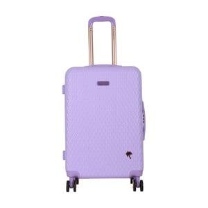 Fialový cestovní kufr LULU CASTAGNETTE Rachel, 71l