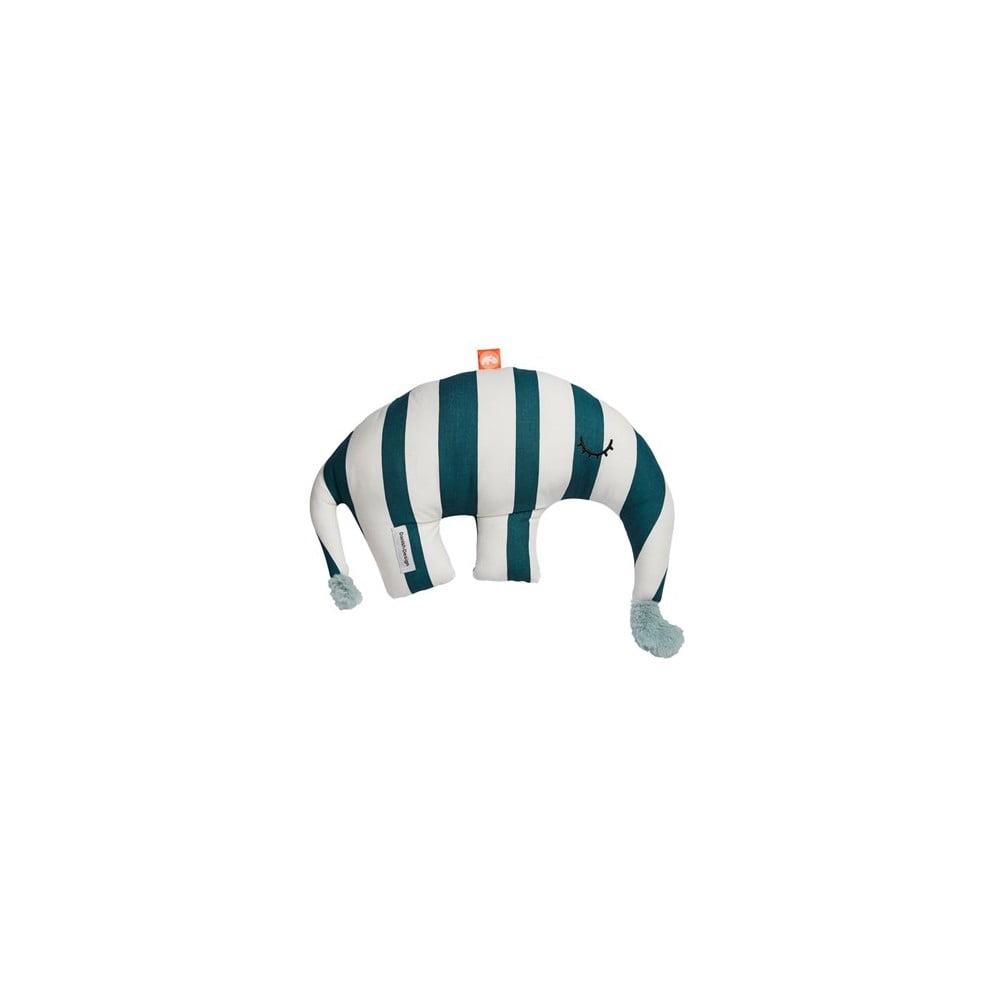 Bavlněná hračka s tmavě modrými pruhy Done by Deer Ozzo