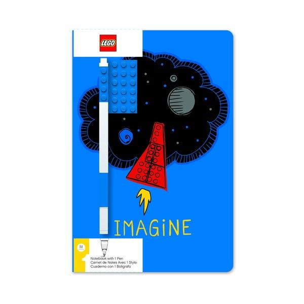Set agendă și pix LEGO® Imagine