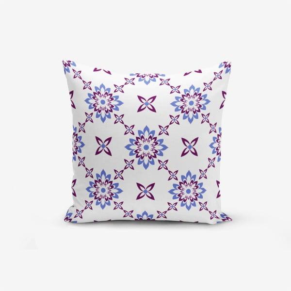 Față de pernă cu amestec din bumbac Minimalist Cushion Covers Flower Mala Smelo, 45 x 45 cm