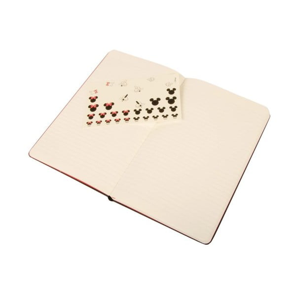 Zápisník Minnie Mouse, linkovaný