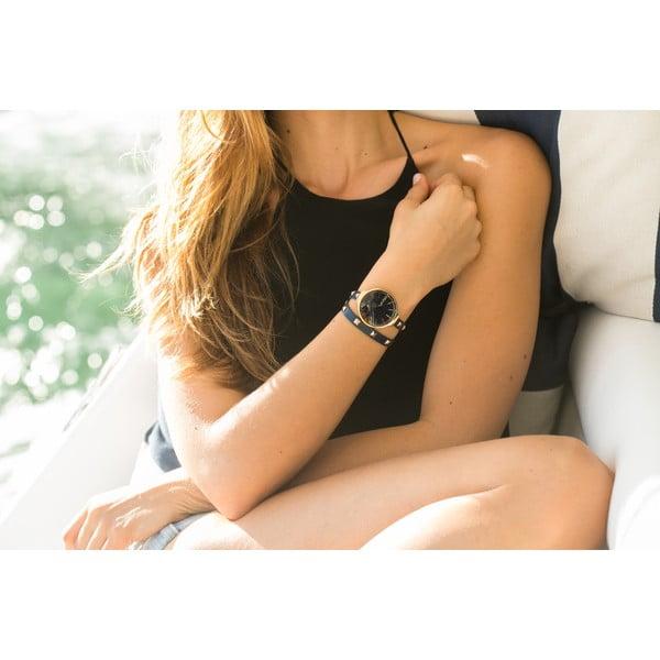 Dámské hodinky s dvojitým páskem Orchard Double Wrap Lights Out