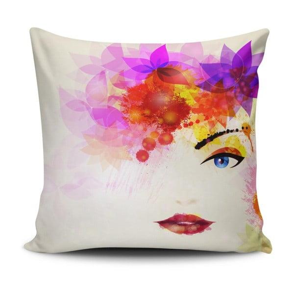 Vankúš s prímesou bavlny Cushion Love Rustona, 45 × 45 cm
