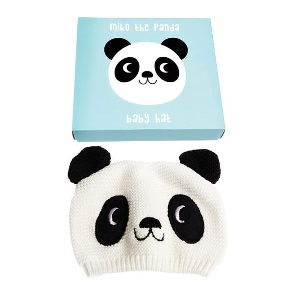 Căciulă din 100% bumbac pentru copii cu model cu panda Rex London
