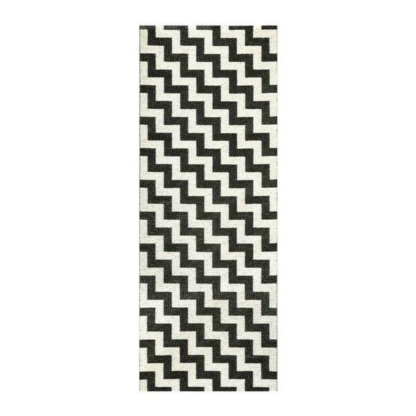 Vinylový koberec ZigZag Black