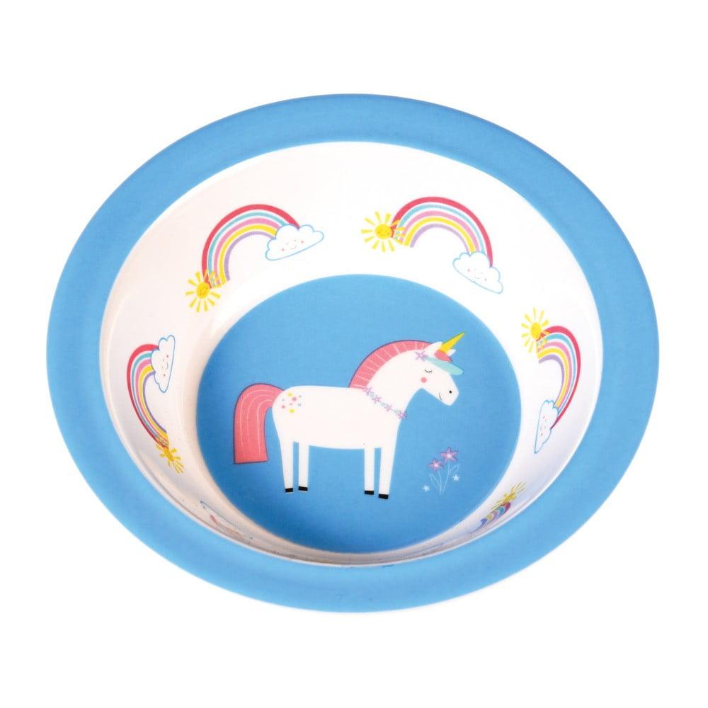 Modrý talířek s jednorožcem Rex London Magical Unicorn