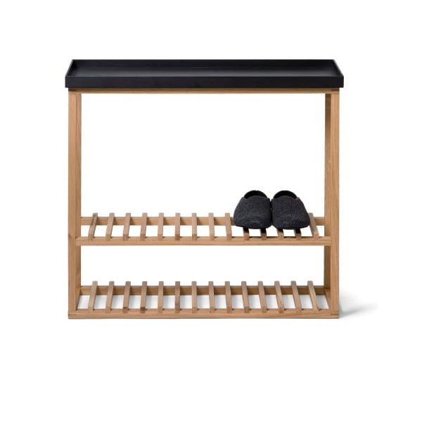 Botník/úložný stolek s černou deskou Wireworks Hello Storage
