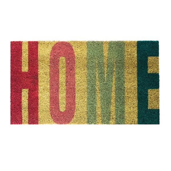 Rohožka z kokosových vláken Fisura Home Rojo, 40x70 cm