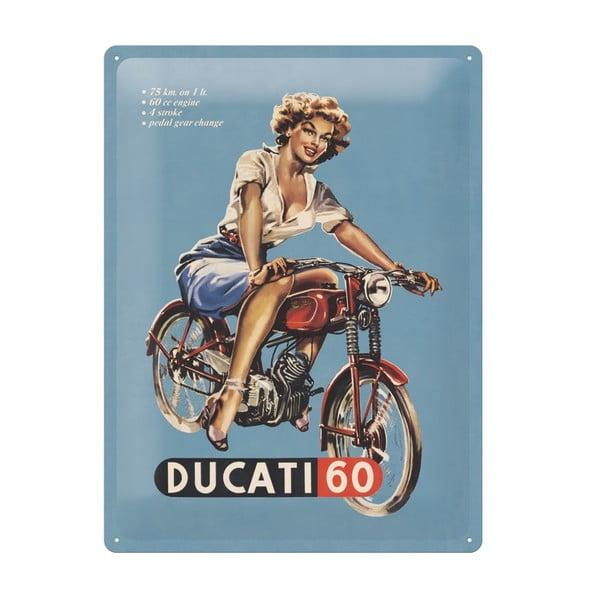 Cedule Ducati, 30x40 cm