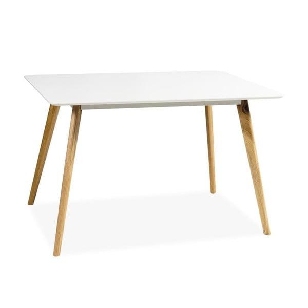 Jídelní stůl Milan, bílý