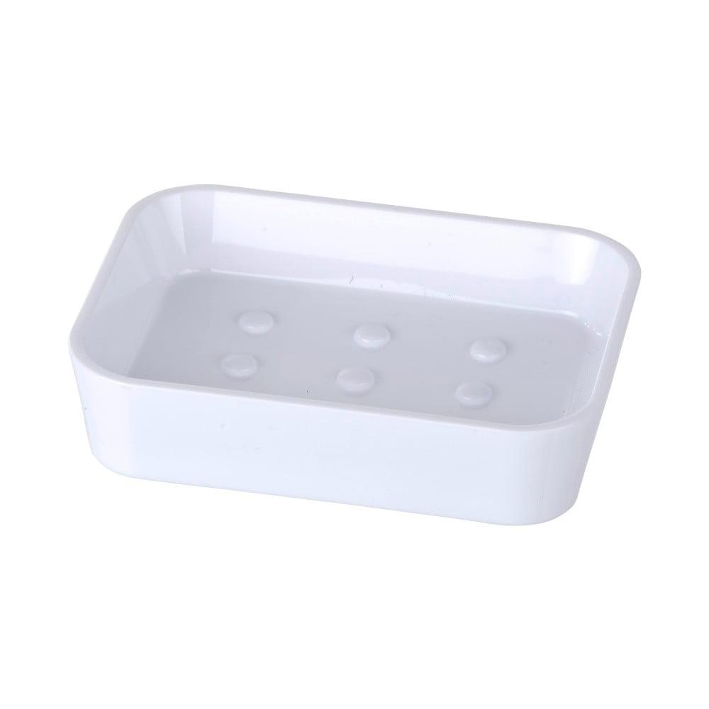 Bílá miska na mýdlo Wenko Candy