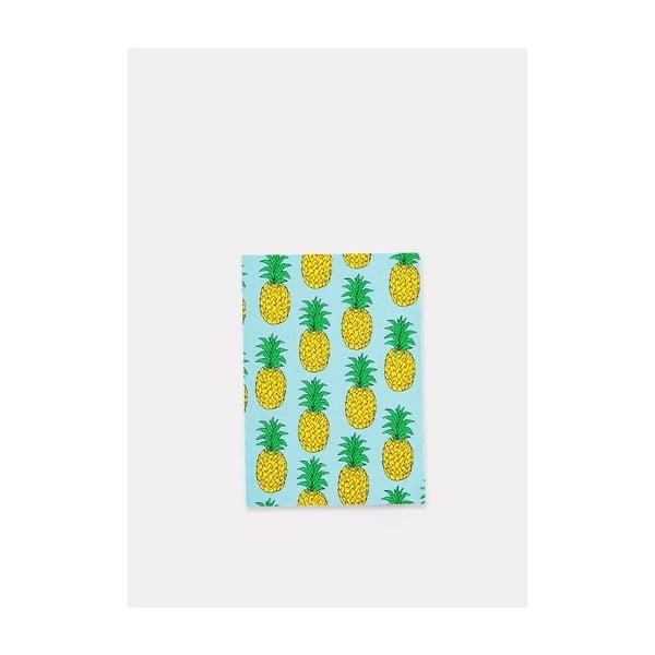 Zápisník Pineapple A6