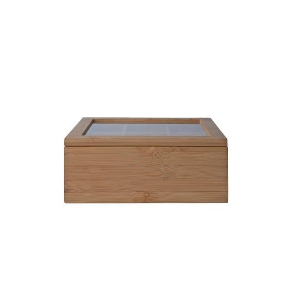 Bambusová krabička na čaj Galzone