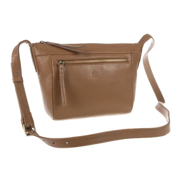 Dámská kožená taška Aurora Biscuit Small Cross-Body
