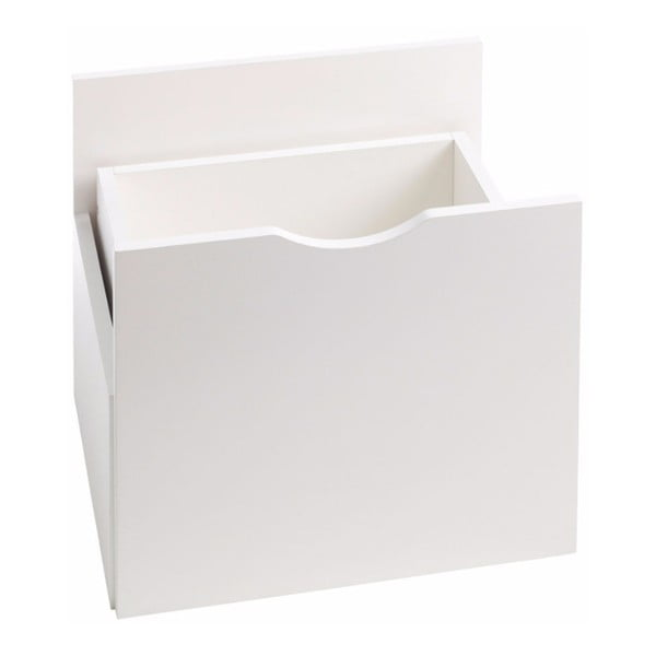 Kiera fehér fiók polchoz, 33 x 33 cm - Støraa