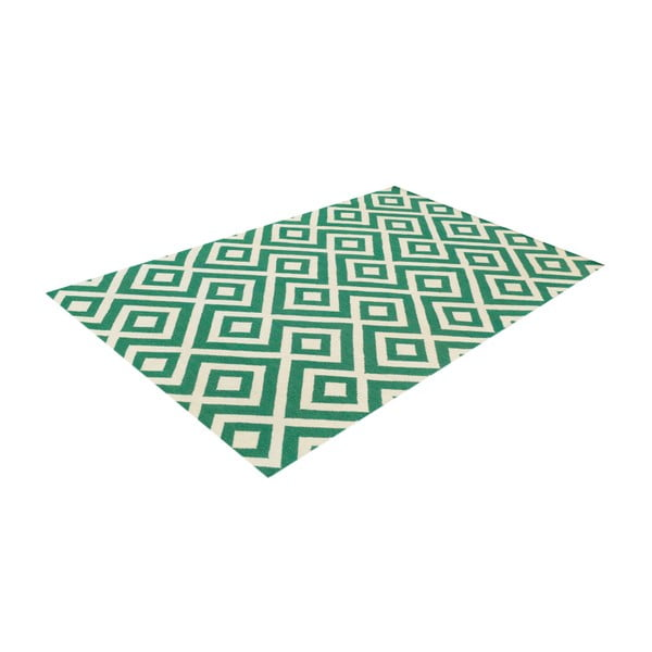 Vlněný koberec Luisa Green, 240x155 cm