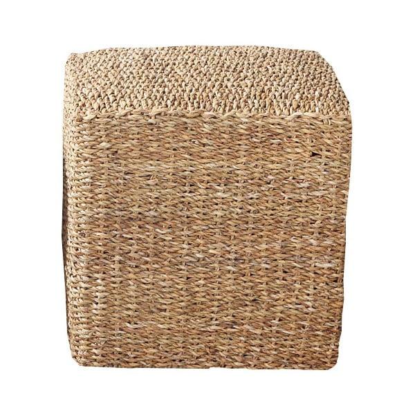 Taburet Mořská tráva, čtverec, 48 cm