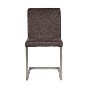 Tmavě šedá jídelní židle LABEL51 Stockholm