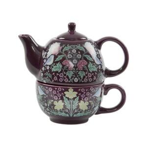 Set ceainic și ceașcă Sass & Belle Midnight Garden