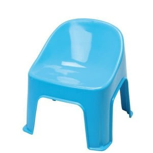 Stolička Plastic Blue