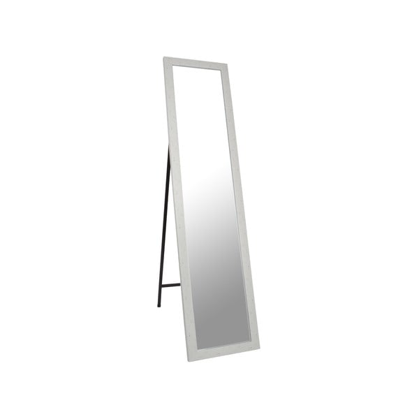 Stojací zrcadlo Standing 37x158 cm, bílý rám