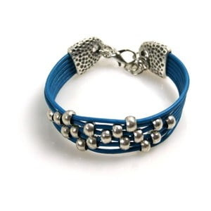 Náramek Pearls, modrý