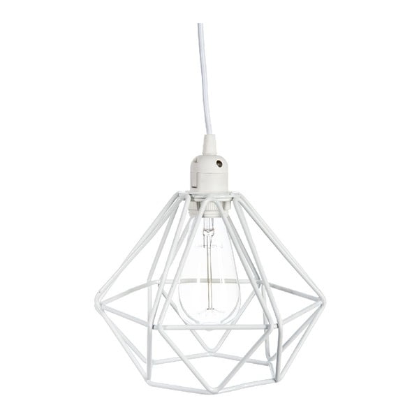 Stropní světlo Geometric White, 23x23x129 cm