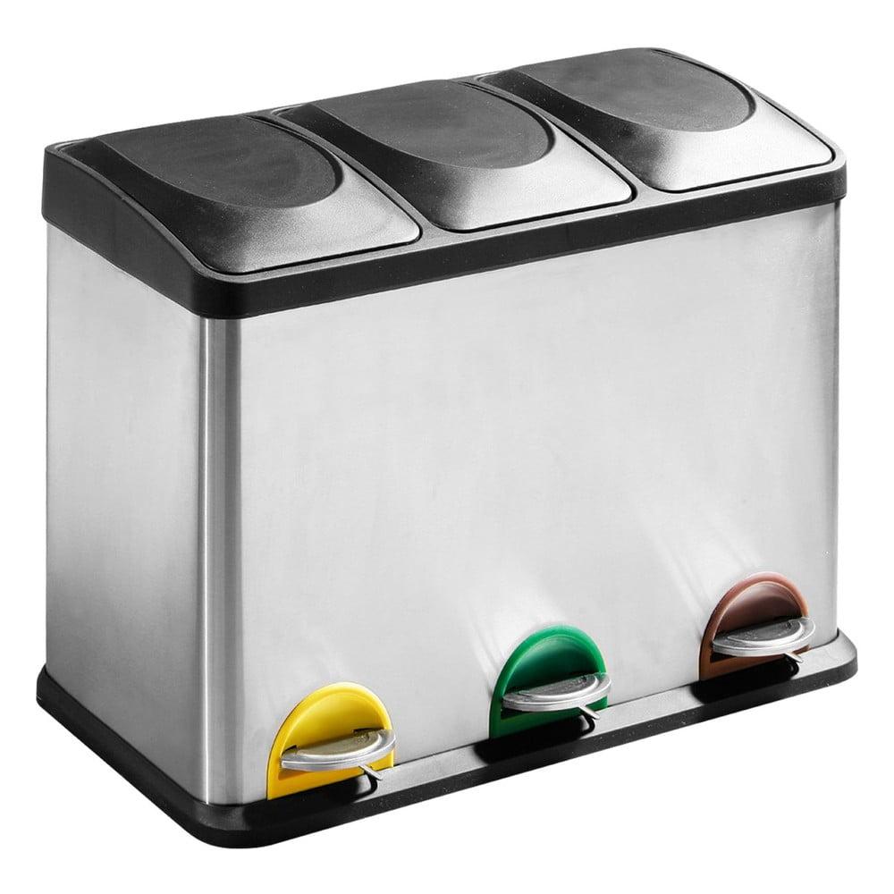 Odpadkový koš na tříděný odpad Premier Housewares, 45 l