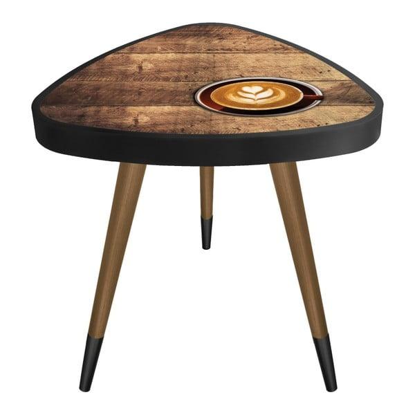 Príručný stolík Maresso Coffee Cup Triangle, 45 × 45 cm
