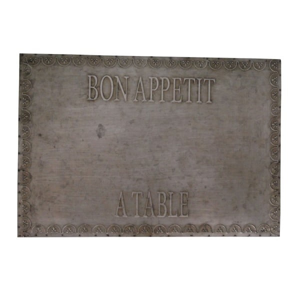 Dekorativní tabule Antic Line Zinc