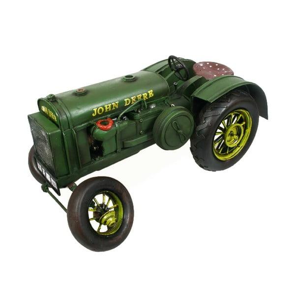 Retro model Zelený traktor