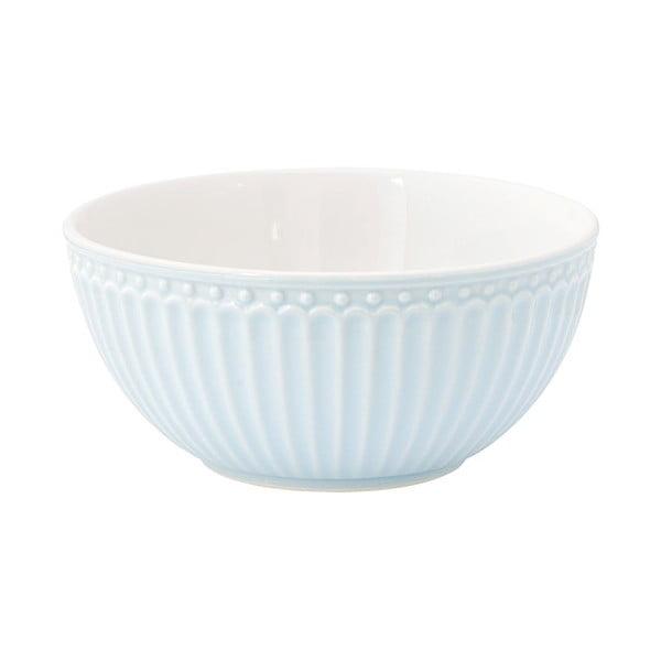 Bol din ceramică Green Gate Alice, albastru deschis