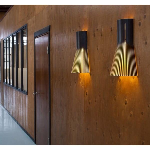 Nástěnné svítidlo Secto 4231 Walnut, 45 cm