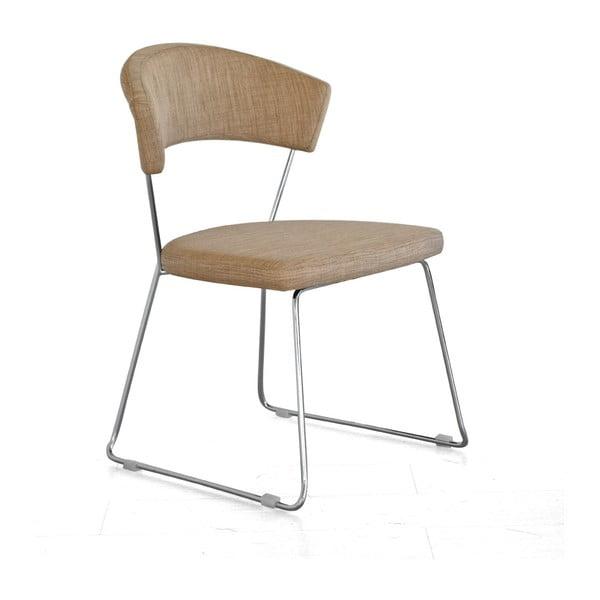 Židle Bacco, tmavě béžová