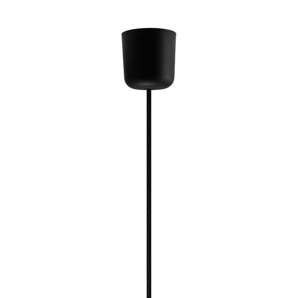 Černé závěsné svítidlo Bulb Attack Cinco