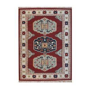 Vlněný koberec Kosak Red, 160x230 cm