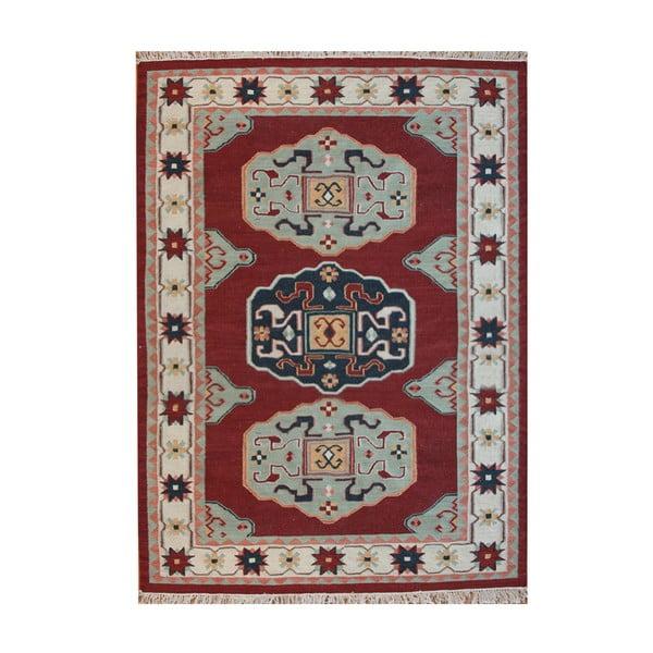 Vlněný koberec Kosak Red, 200x300 cm