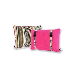 Voděodolný a oboustranný polštářek Dream Pillow Fuchsia Tribal