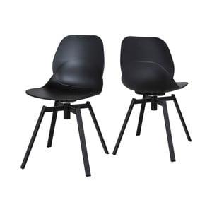 Černá jídelní židle Canett Merle