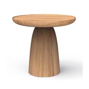 Odkládací stolek z masivního dubového dřeva Javorina Hrib 50