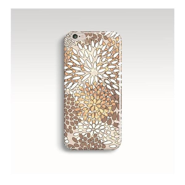 Obal na telefon Gold Blossom pro iPhone 6/6S