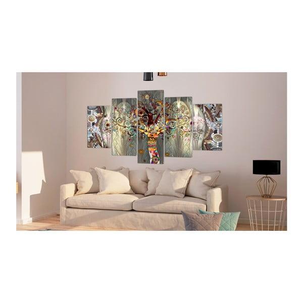 Tablou pe pânză din mai multe piese Artgeist Tree of Life, 100 x 50 cm