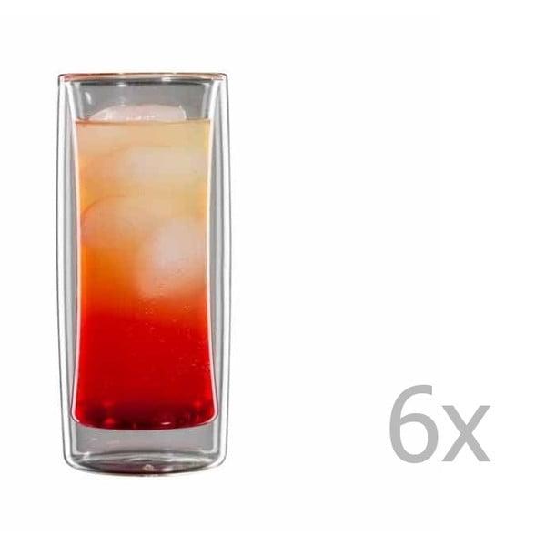 Sada 6 malých sklenic bloomix Kavex