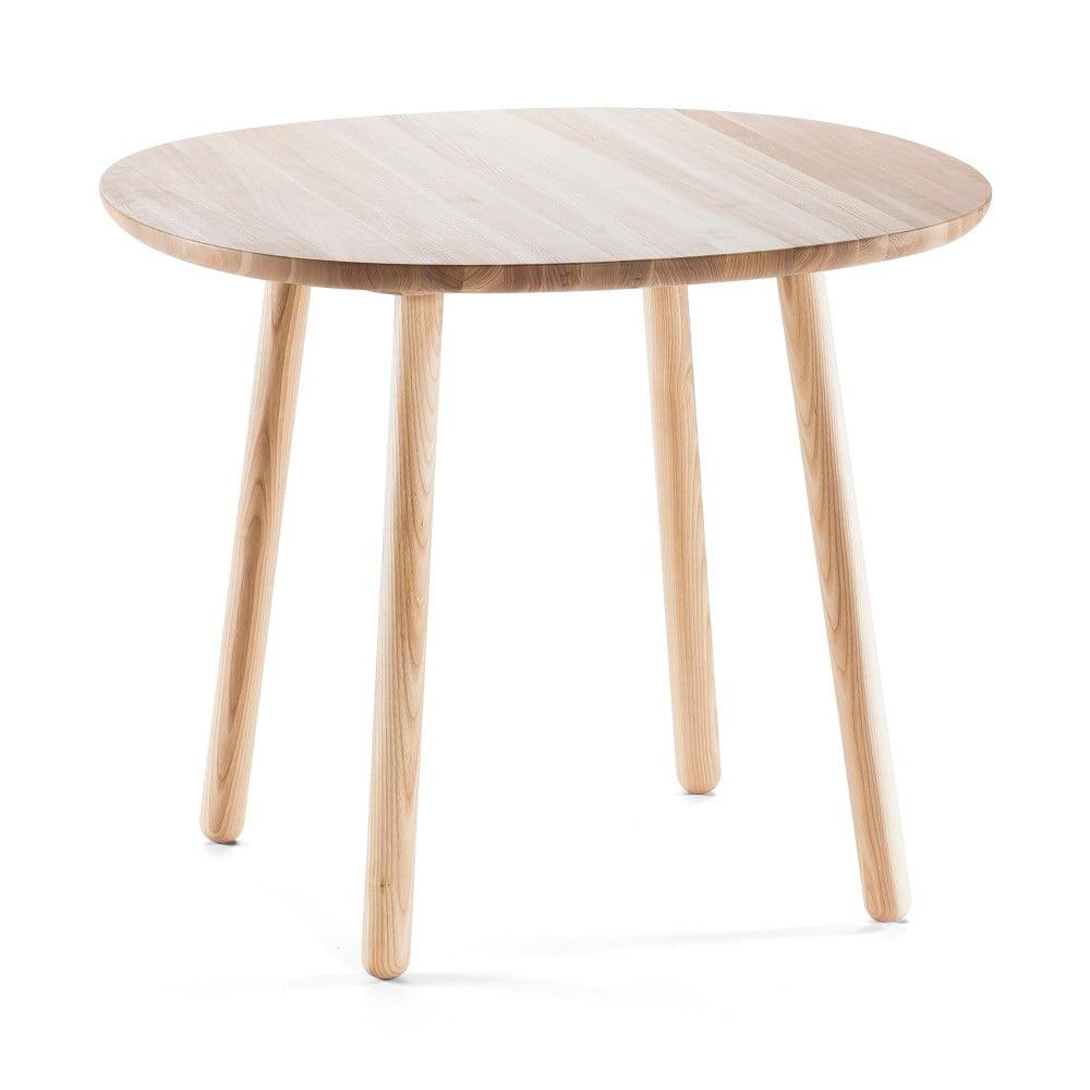 Přírodní jídelní stůl z masivu Emko Naïve, 90 cm