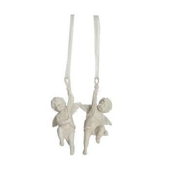 Set 2 decorațiuni suspendate Antic Line Angels, 6 cm de la Antic Line