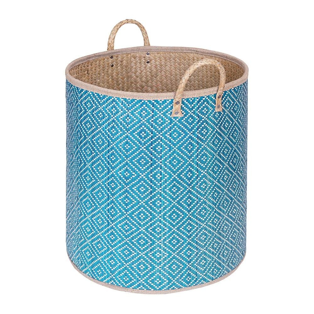 Ručně vyráběný košík z palmových listů a'miou home Aone, ⌀ 45 cm