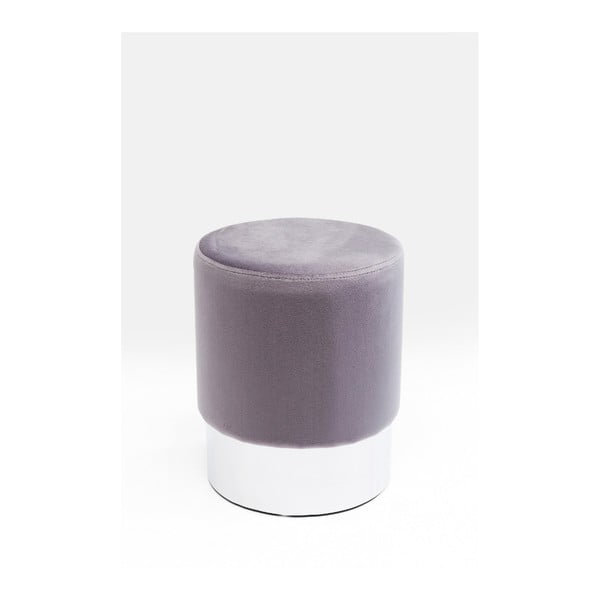 Cherry ezüstszínű ülőke, ∅ 35 cm - Kare Design